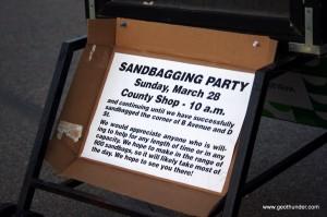 Sandbagging Party